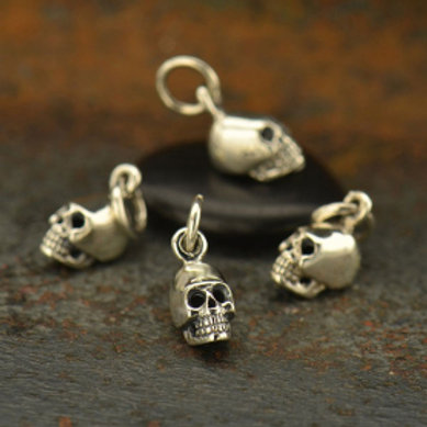1125 SMALL SILVER SKULLS (SEE NOTES FOR OPTIONS)