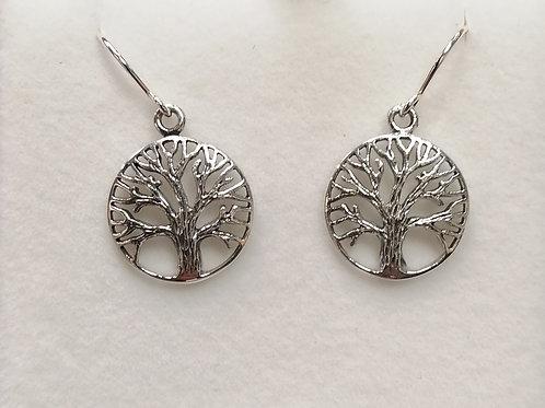 E1140 TREE OF LIFE EARRINGS