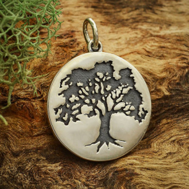 """A4077 THE MIGHTY OAK TREE (specify 16 or 18"""" chain)"""