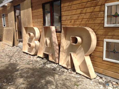 Unfairground bar lightbox