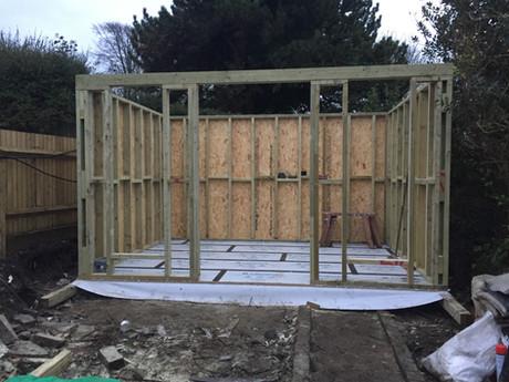 Cabin C24 Timber Frame
