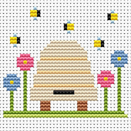 Simple Stitches Bee Hive
