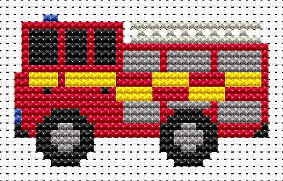 Sew Simple Fire Engine