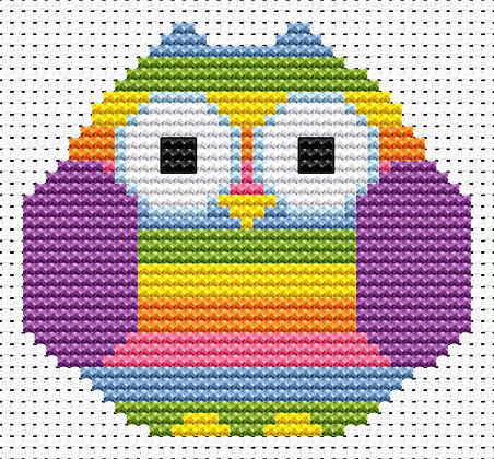 Sew Simple Striped Owl