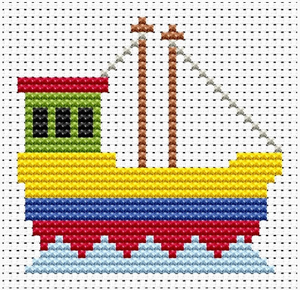 Sew Simple Fishing boat