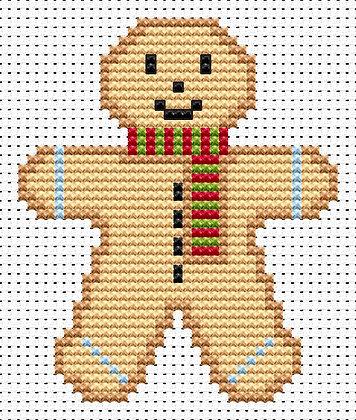 Sew Simple Gingerbread Man