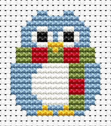Easy Peasy Winter Owl