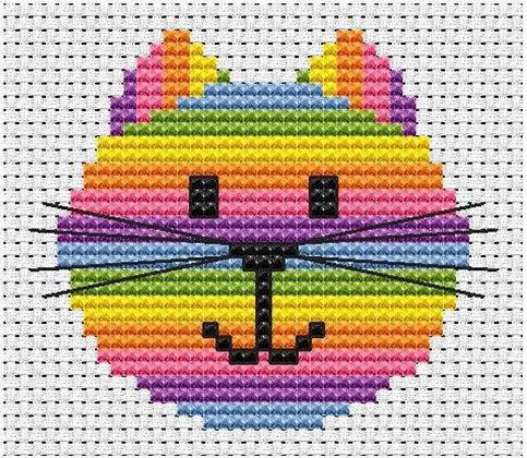 Sew Simple Cat Head