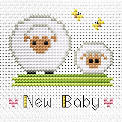 Simple Stitches New Baby Sheep