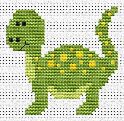 Sew Simple Dinosaur