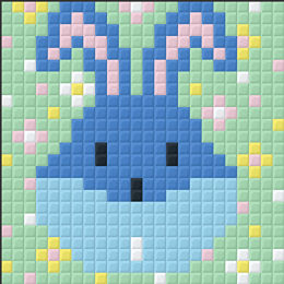Bunny Head Small Magnet Kit