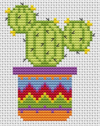 Simple Stitches Cactus