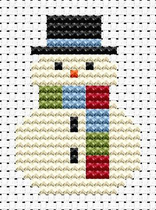 Easy Peasy Snowman