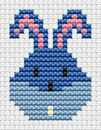 Easy Peasy Bunny Head