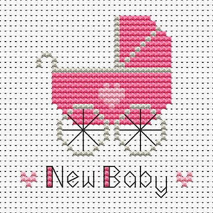 Simple Stitches New Baby Girl