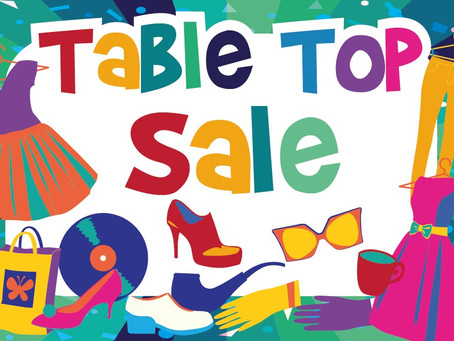 SSSC Table Top Sale – 17th of March
