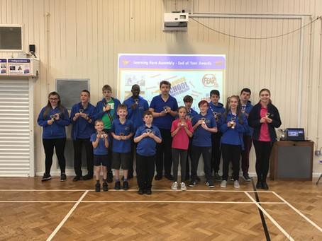 Learning Hero Award Winners 2018/19