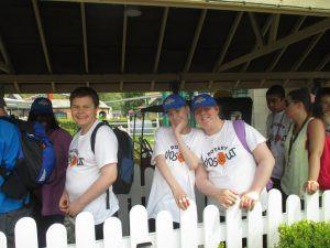 Whole school trip to Drayton Manor Theme Park