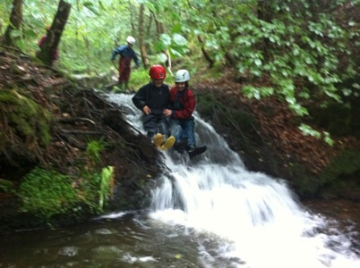 Mr Dodds Class Gorge Walking at Bealey