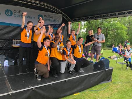 Derbyshire Kwik Cricket Champions!