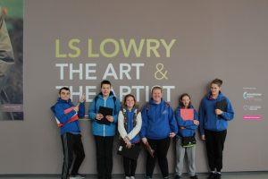 KS4 Art Trip to 'The Lowry.'