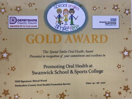 Gold Award for Special Smiles
