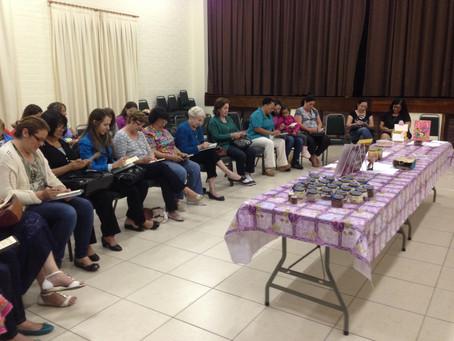 Eventos reais: Reunião de Empreendedorismo para Mulheres (com atividade criada por nós)