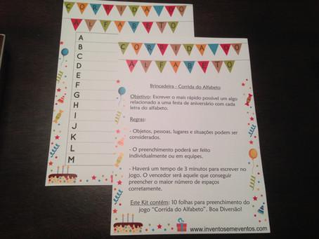 Mais jogos para festas de aniversário aqui na Inventos em Eventos!