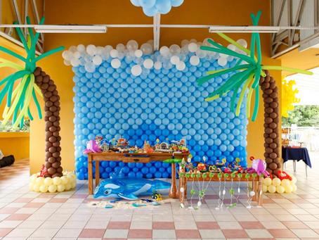 """Eventos Reais: O primeiro ano do Arthur """"na praia"""""""