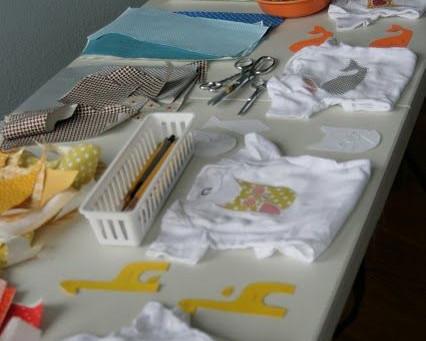Brincadeira para chá de bebê: Oficina de Bodies