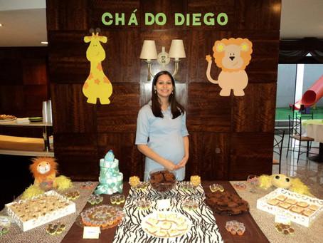 Eventos Reais: chá de bebê do Diego