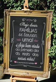 Cartões, lembranças, plaquinhas... 10 inspirações com mensagens para seu Casamento!