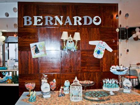 Eventos Reais: Chá de Bebê do Bernardo
