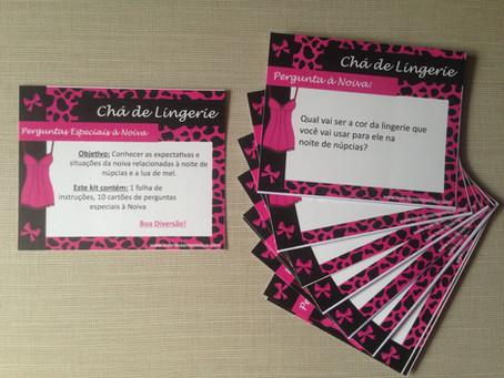 Novidades na Loja: Tema Oncinha Pink - Chá de Lingerie e Transportes - Chá de Bebê