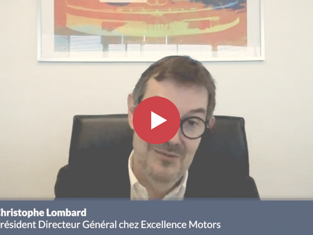 3 MINUTES CHRONO' avec Christophe Lombard du groupe Excellence Motors