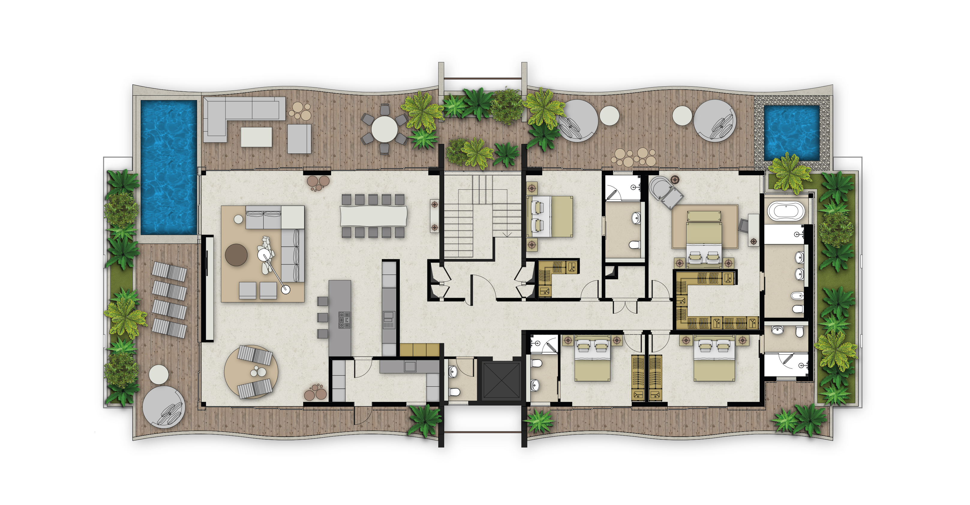 MANTA COVE Plan penthouse copy
