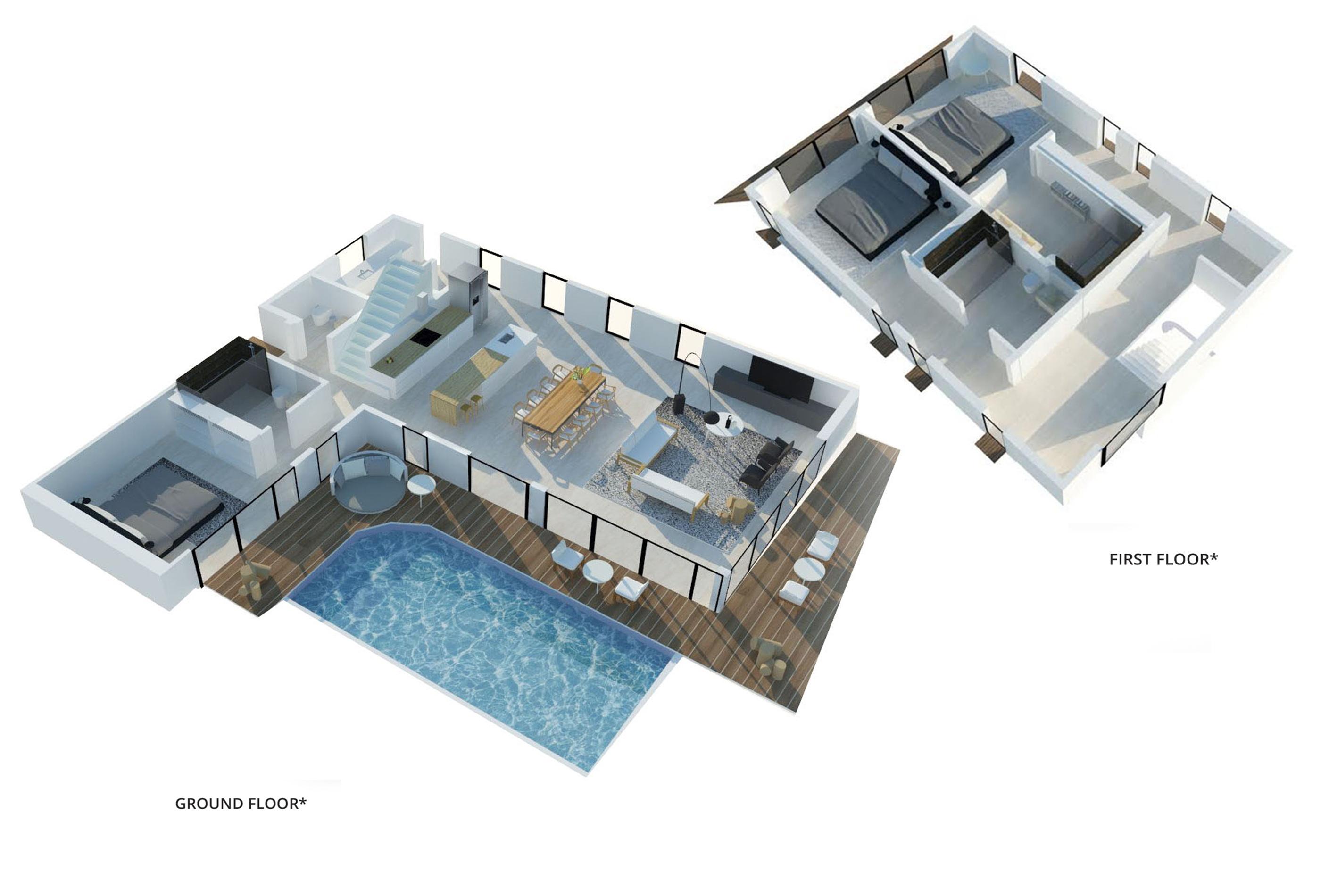 villas3 3D