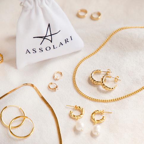 Gold Jewellery - Earrings, Necklaces - j
