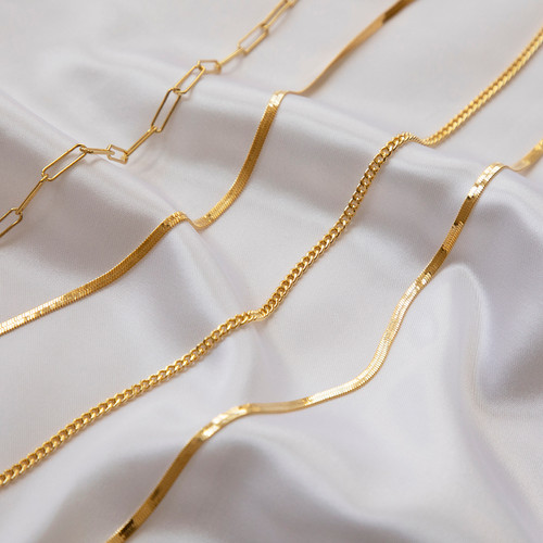 Gold Necklaces, Jewellery Photographer B