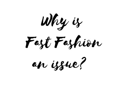 WHY IS FAST FASHION AN ISSUE?