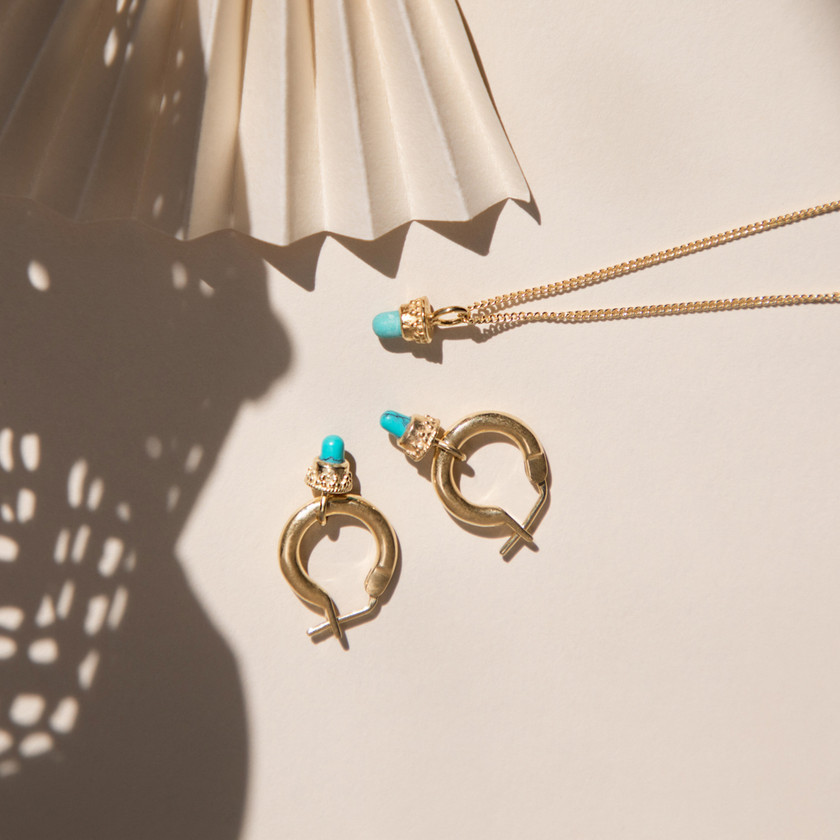 Gold Jewellery, Necklace, Pendant, Jewellery Photography, Jewellery Photographer, Jewellery Photographer Bristol, Jewellery Photographer London, Earrings, Turquoise, Gold Earrings, Chocianaite Photography, Bristol