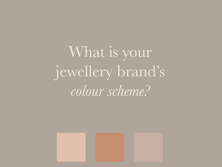 SETTING A COLOUR PALETTE FOR YOUR JEWELLERY BRAND