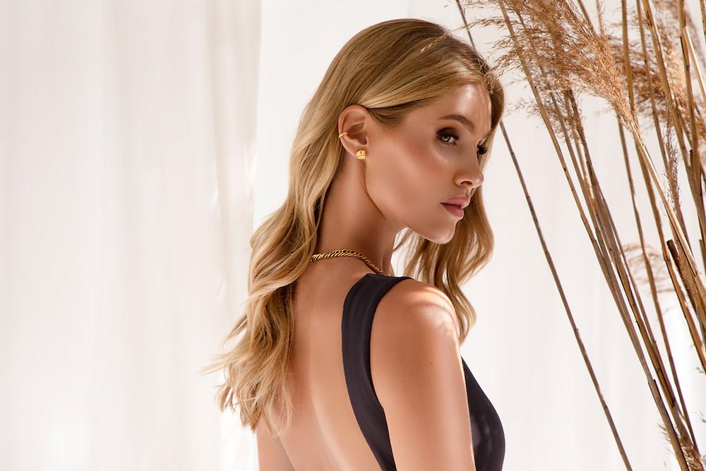 Jewellery Photography, Jewellery, Gold Earrings, Model, Jewellery Photoshoot, Jewellery Photographer UK
