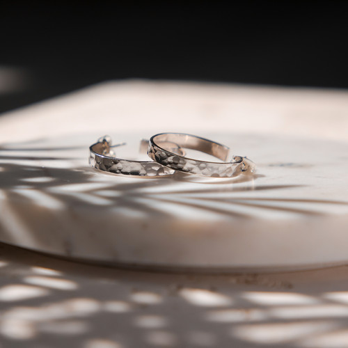 Sterling Silver Earrings Jewellery Photo