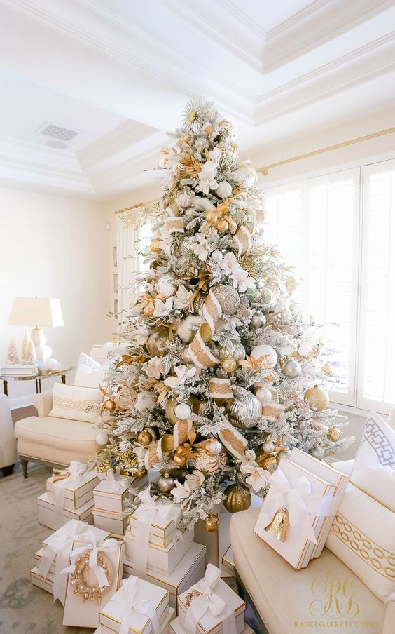 White, Christmas Tree, Decorations, Christmas Marketing Tips, Marketing Tips For Jewellery Brands Christmas 2020, Jewellery Marketing Ideas Christmas 2020