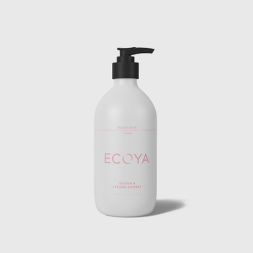 Guava & Lychee Hand & Body Lotion 450ml