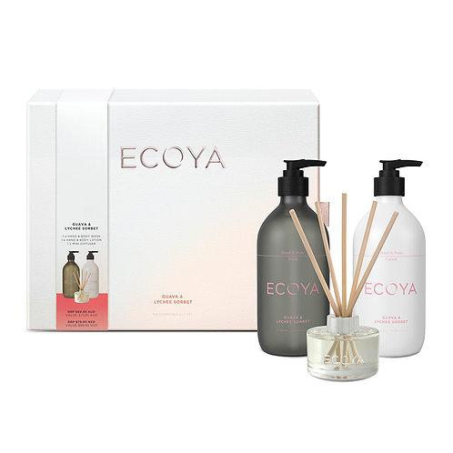 Guava & Lychee Sorbet Essentials Gift Set