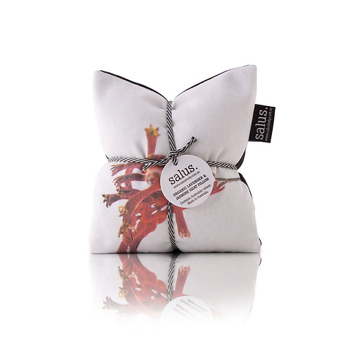 Red Botanical lavender & Jasmine Heat Pillow