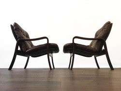 Rosewood Leather Chairs Norway