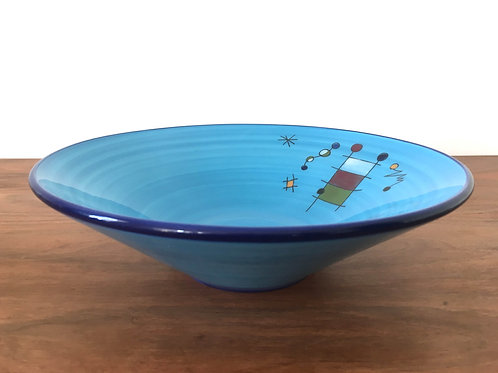 Spanish Joan Miro inspired Dish Ceramar